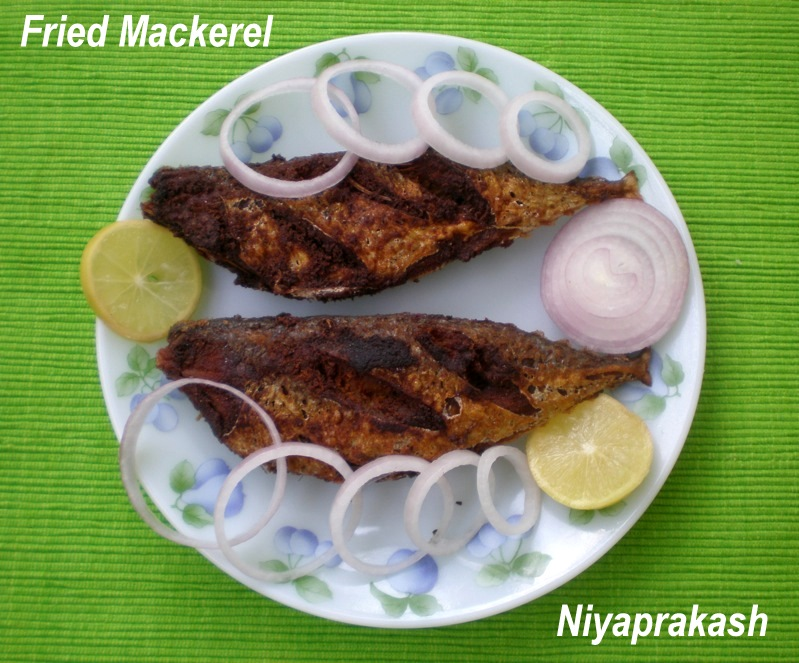 Fried Mackerel Indian Recipes Clinic