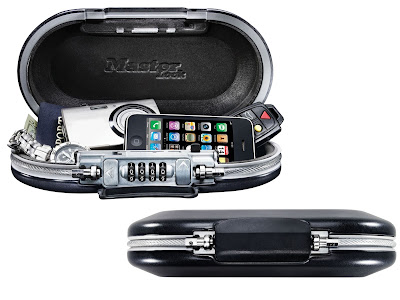 Master Lock Portable SafeSpace for school, work or travel