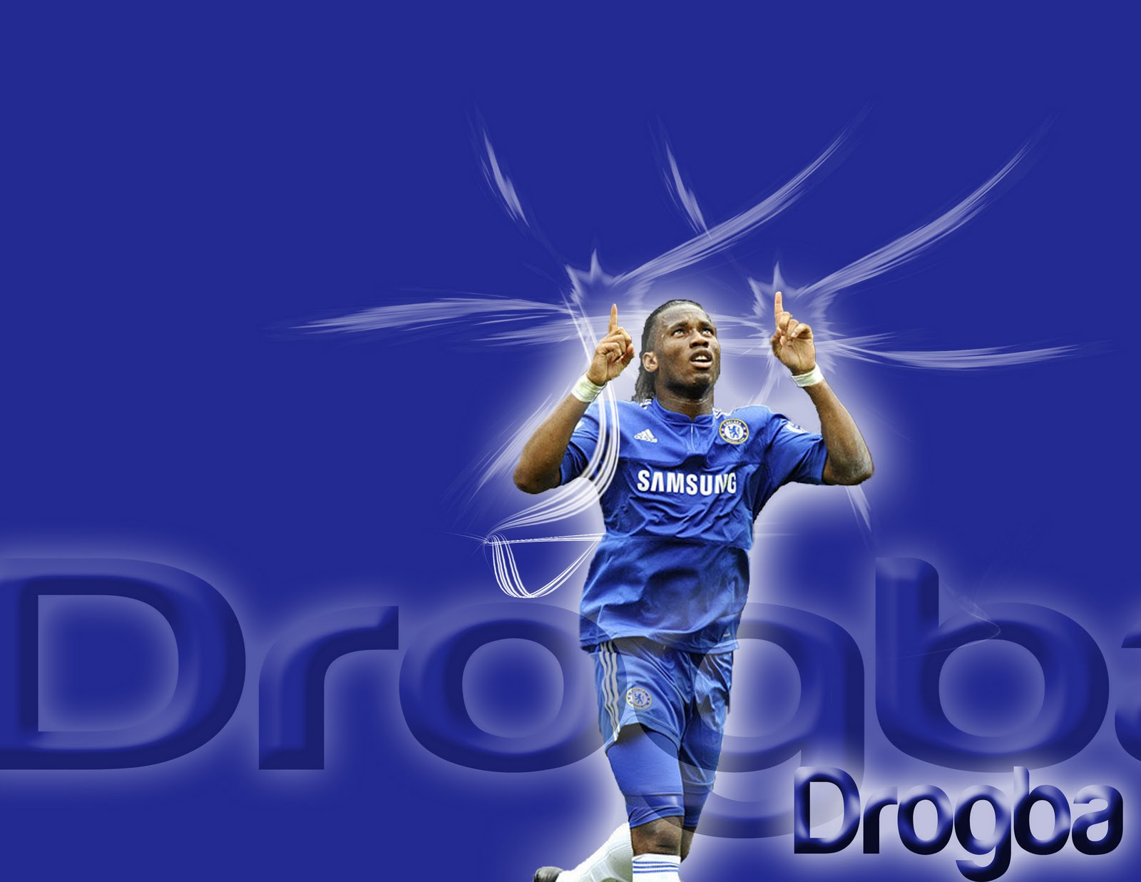 Top Footballer Wallpaper Didier Drogba Chelsea Wallpapers For Desktop picture wallpaper image