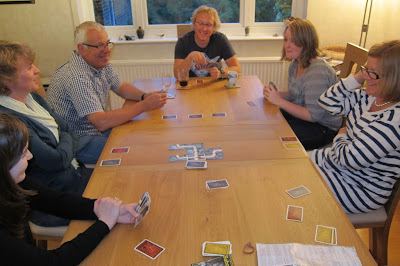 Saboteur - The players trying to identify who are the good and bad guys