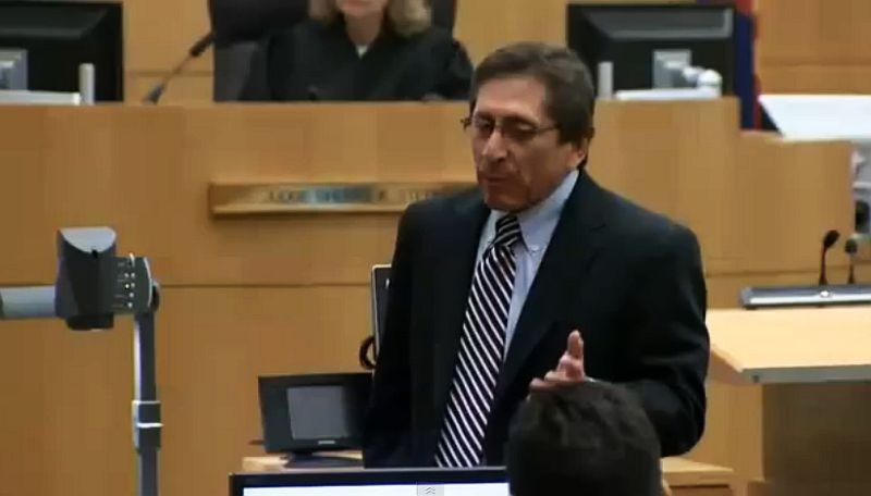 Juan Martinez delivers closing arguments on May 2, 2013, in the Jodi ...
