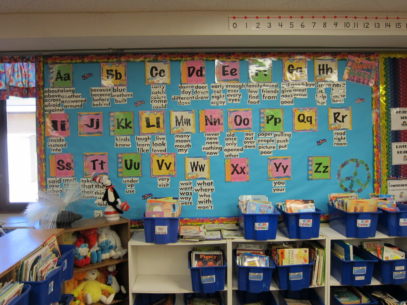 Classroom Decoration Word Worksheet : Peace love first grade classroom photos