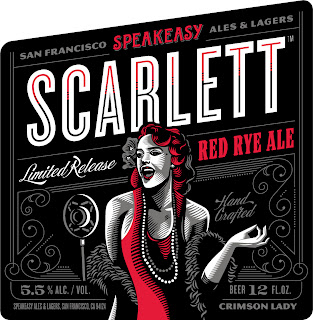 SpeakEasy Ales and Lagers Scarlett Red Rye Ale