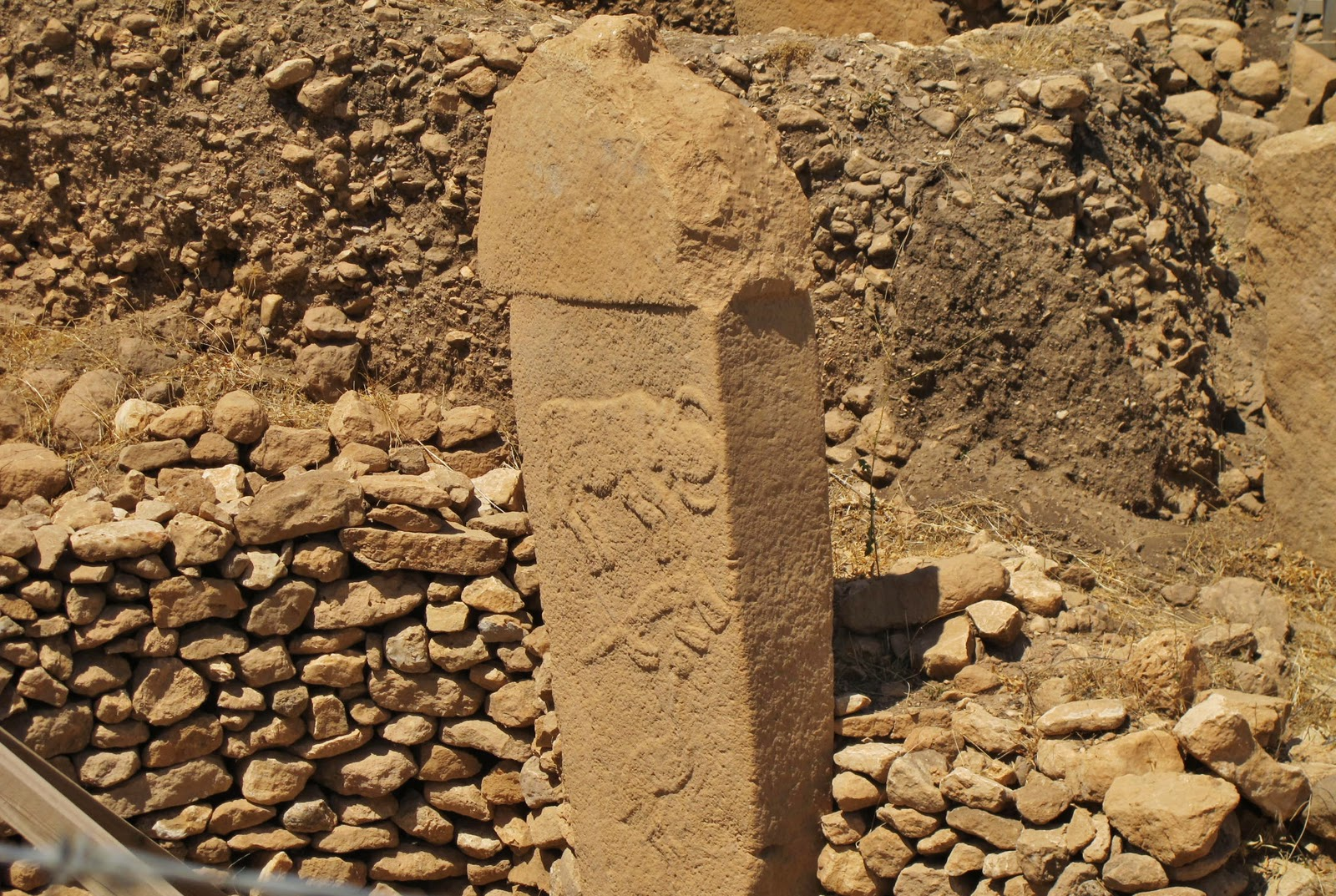 Gabi  Photo De Colonne Gobekli Tepe
