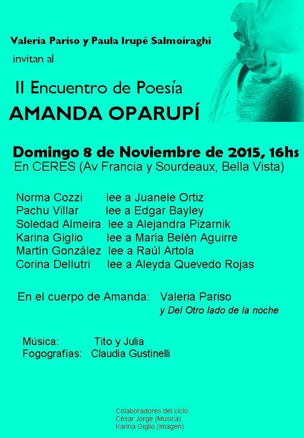 II Amanda Oparupí