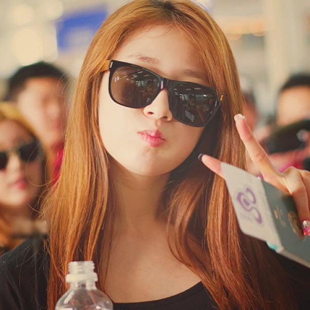 "Pretty PARK JIYEON T-ARA ""Airport Style"""