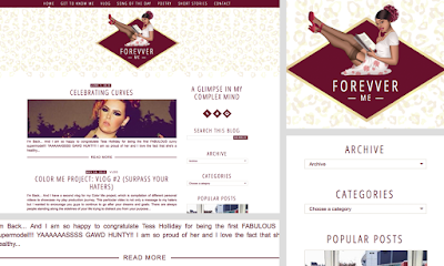 chic classic retro - girly - leopard blogspot template / theme design for forevver me