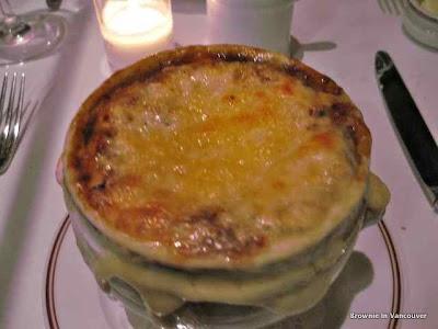 Bouchon Bistro Onion Soup