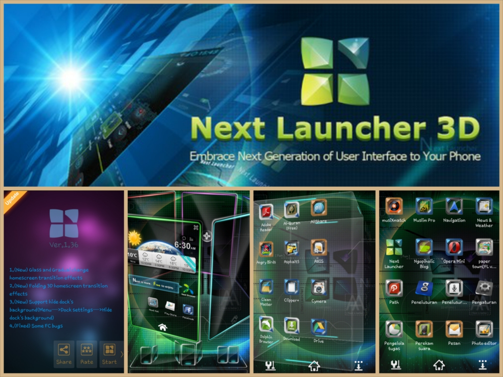Next launcher 3d 1 36 patched full