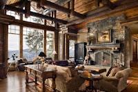 Casa en estilo rústico