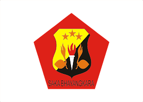 Saka Bhayangkara Logo Vector download free
