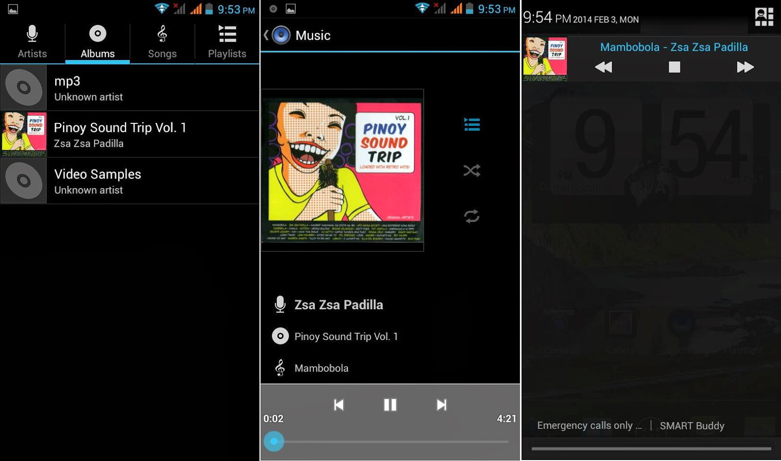 DTC Mobile GT15 Astroid Fiesta Music Player