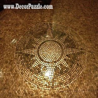 Top Catalogue Of Penny Floor And Copper Tile