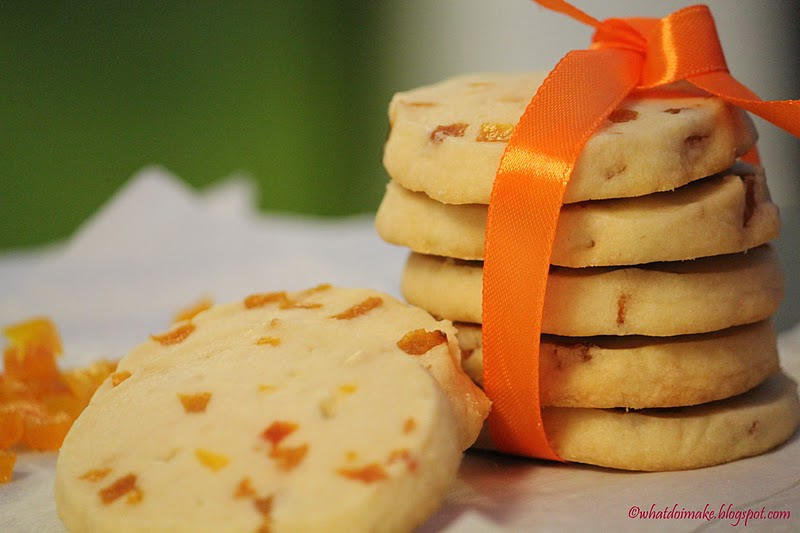 WHAT DO I MAKE...: Apricot Shortbread Cookies