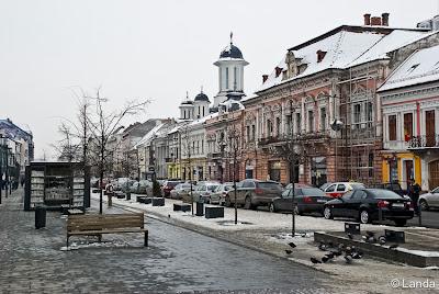 Bulevardul Eroilor de Cluj-Napoca en Rumania