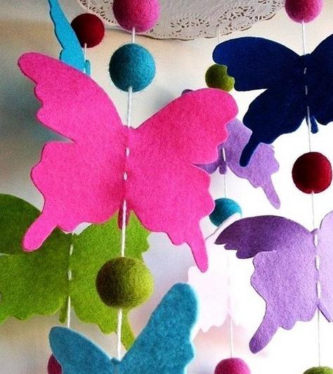 Come fare un lampadario con le farfalle tutorial - I Love Artigianato