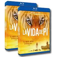 """Sorteamos dos Blu-ray+DVD de """"La Vida de Pi"""""""