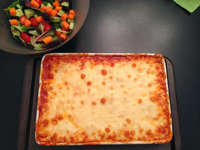 Playing With My Food!: Traditional Italian Sausage Lasagna