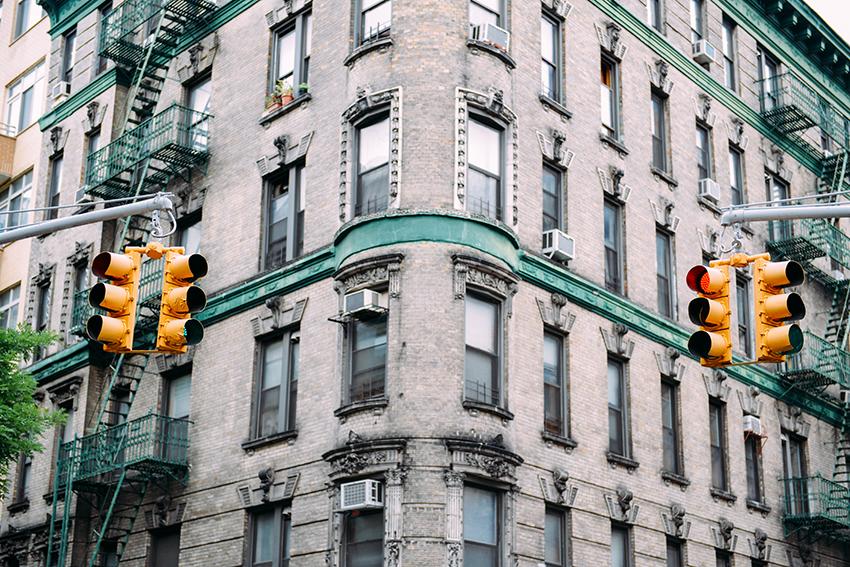 the petticoat new york diary photo traffic lights