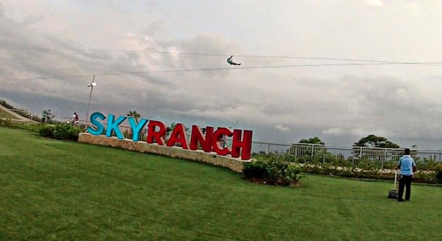 Sky Ranch Zip Line Tagaytay