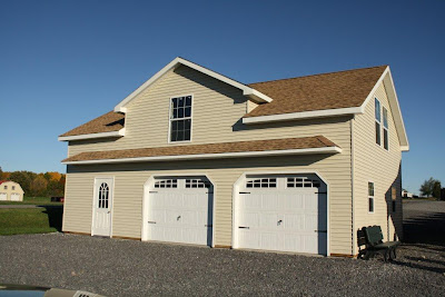 2 Story Doublewide Garage, Wood-Tex Products