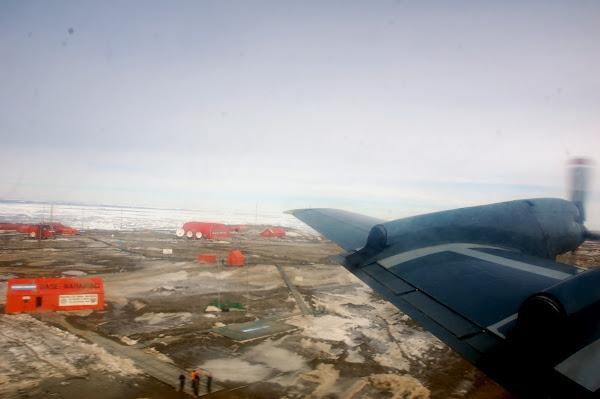 Vuelo Control Tráfico Marítimo sobre Península Antártica