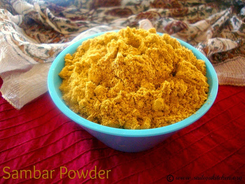 images for Sambar Powder Recipe / Homemade Sambar Powder/Sambar Podi Recipe