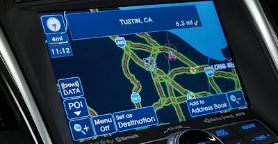 2012 Hyundai Sonata Hybrid GPS.