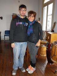 Mariana Baraj - Percusionista - 08/06/2011