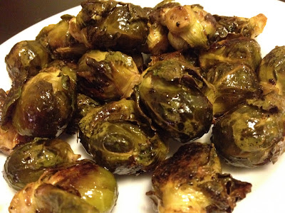 Ruminations on Food: Roasted Brussel Sprouts with Maple & Butter