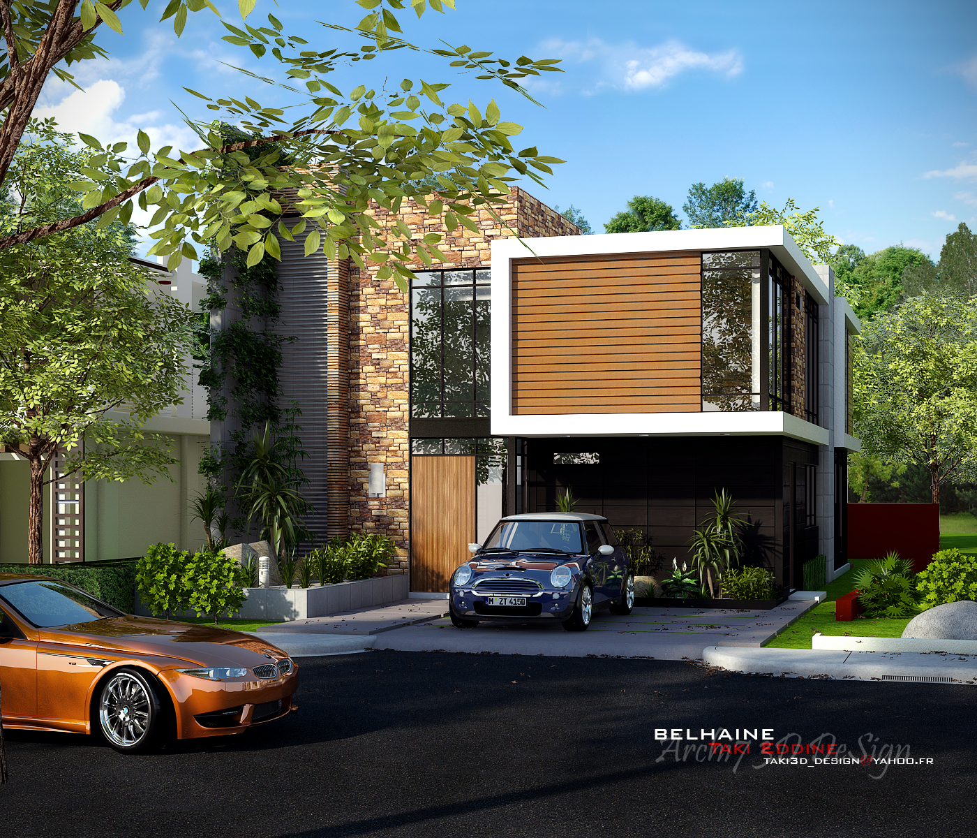 New Tutorial Vray For Sketchup Exterior Rendering Cassa Provenza 2012