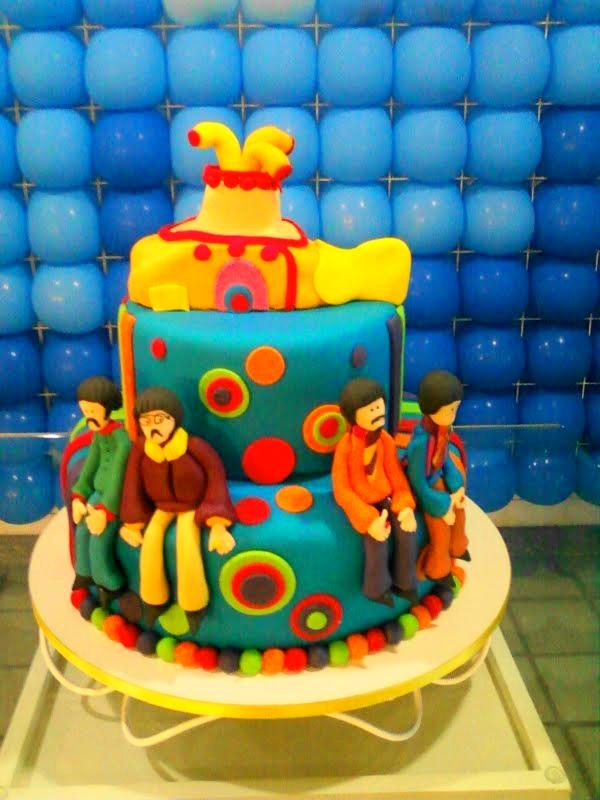decoracao festa infantil yellow submarine:LA FIESTA BALÕES: FESTA THE BEATLES -YELLOW SUBMARINE-
