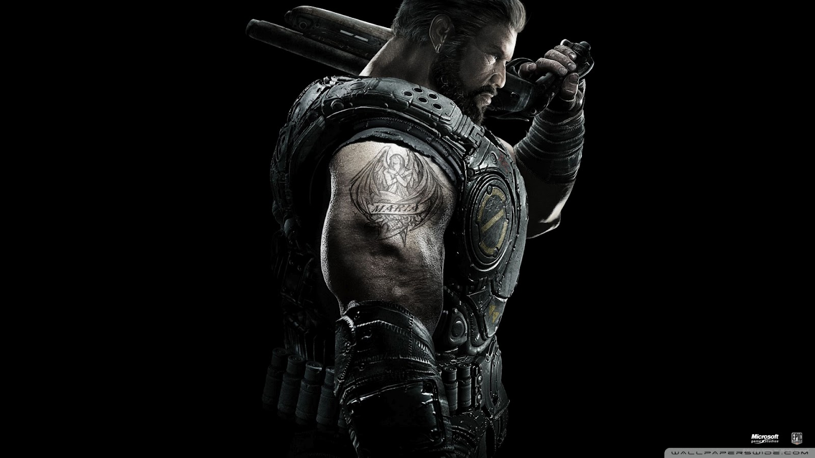 Gears of War HD & Widescreen Wallpaper 0.525267497428757
