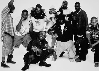 all rappers- wu tang clan - gangsta rappers -hip hop - black and white