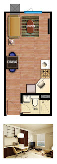 Avida Towers Alabang Studio Unit Plan