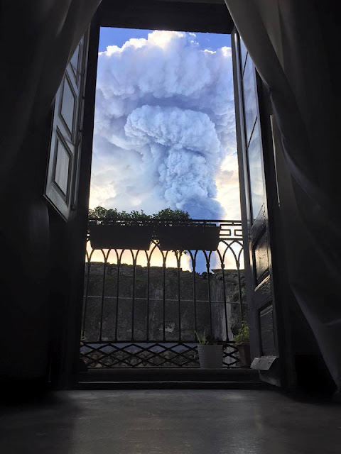 Etna Eruption from Randazzo