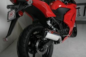 Jardine Exhaust Aluminum for Kawasaki ninja 250r