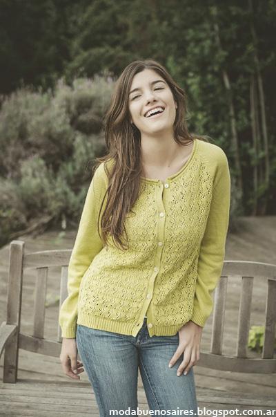 Sacos y sweaters moda tejidos 2015, Del Cerro Patagonia.