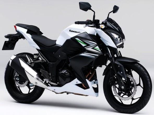 Motor Kawasaki Z250 Terbaru 2014 Putih