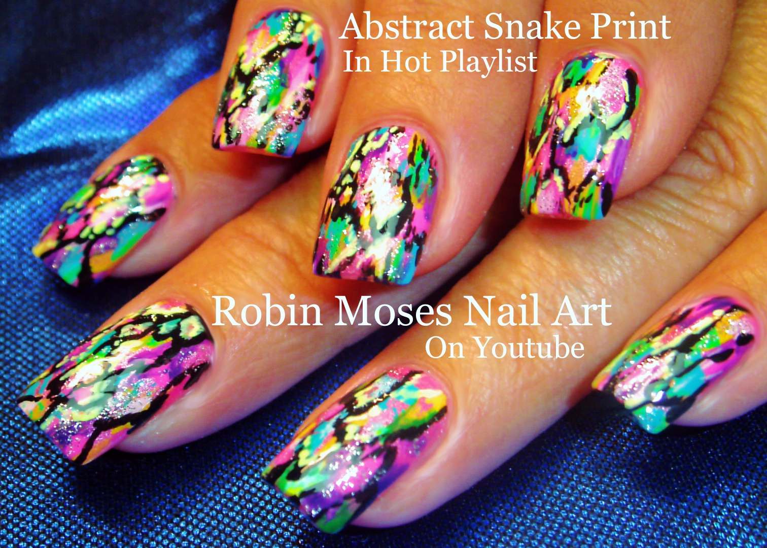 Robin Moses Nail Art Abstract Watercolor Nails Abstract Nail within The Most Incredible abstract nail art design 2015 intended for your reference