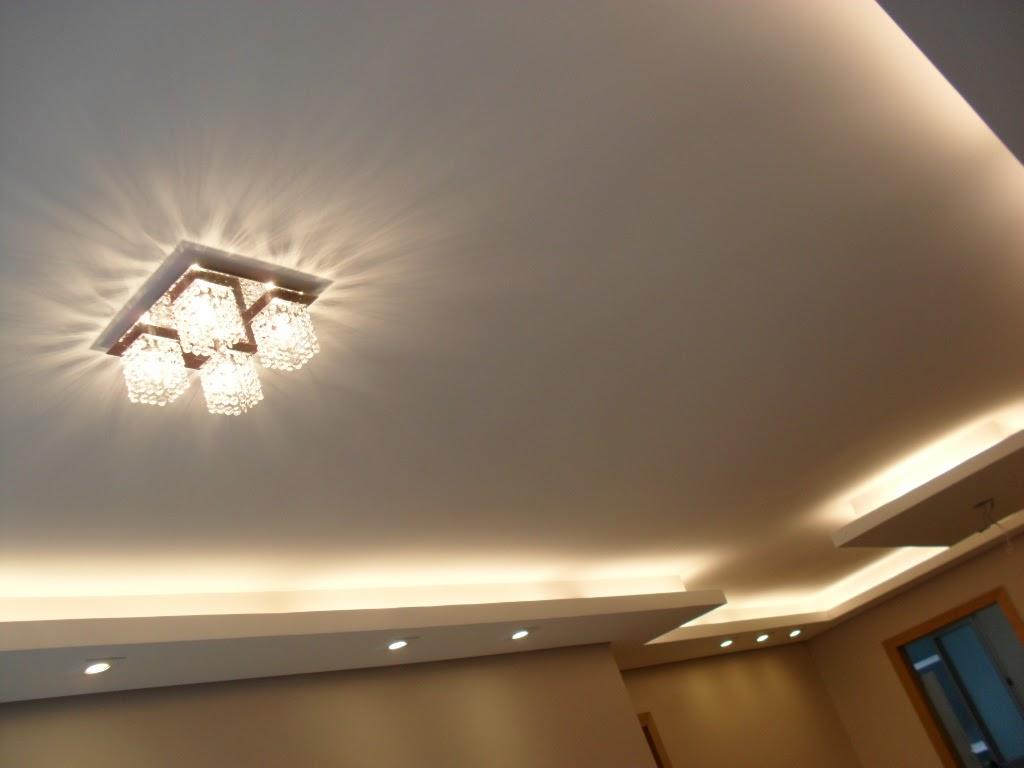 Decorao De Forro De Gesso Para Sala Decorao Em Gesso With Decorao  -> Luminaria De Gesso Para Sala