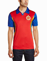 Buy Royal Challengers Bangalore Replica Men's (Red) Rs. 569 only at Amazon.