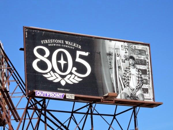 Firestone Walker 805 beer billboard