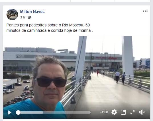 Ilicinense na Rússia narrando sua nona Copa da Carreira