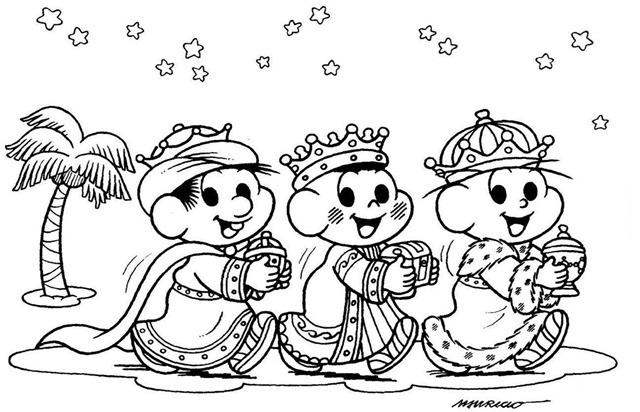 A lenda dos Três Reis Magos para contar para as crianças