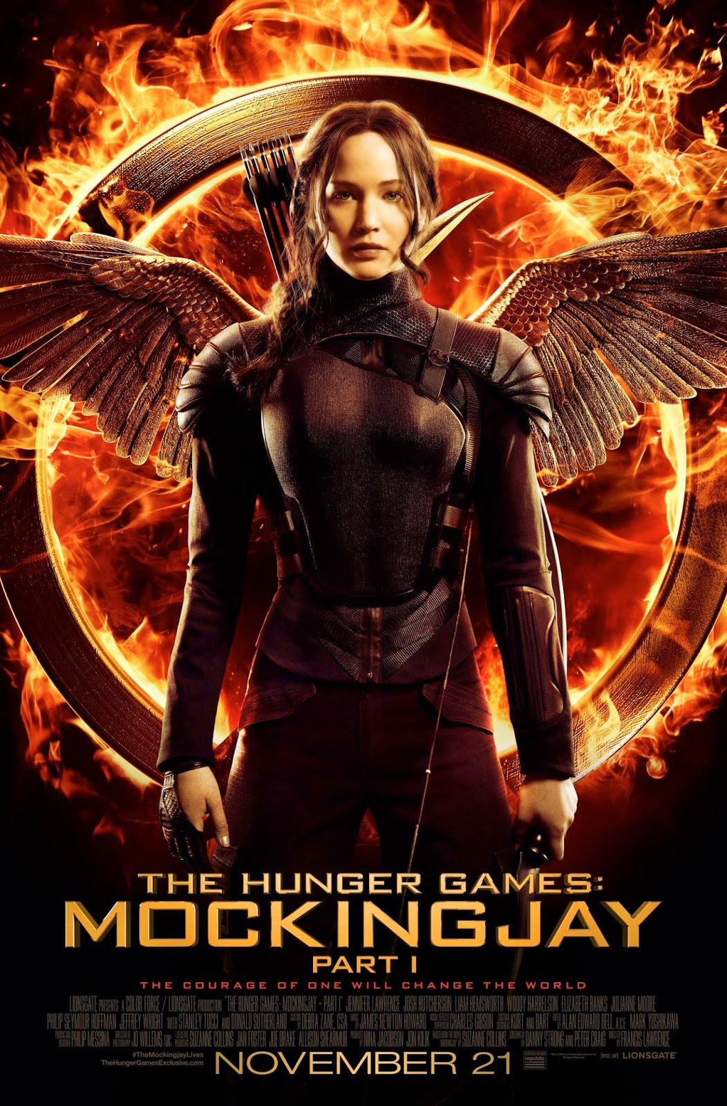 Katniss Everdeen Fronting this Amazing Mockingjay Part 1 ...