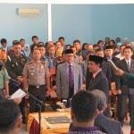 Pelantikan Rektor Baru Unswagati Periode 2014-2018