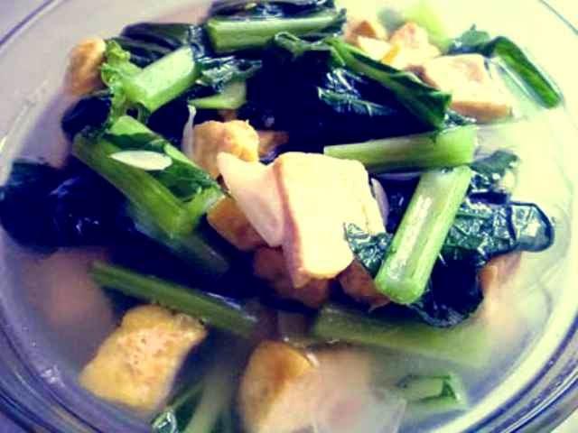 resep sup sawi hijau