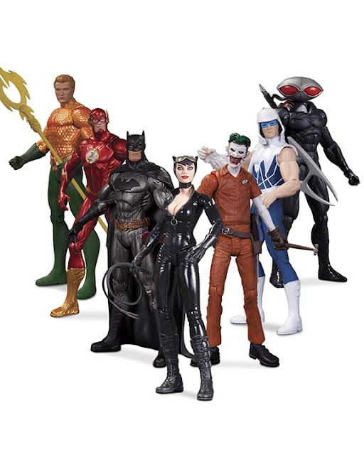 "DC Collectibles New 52 ""Super-Heroes vs Super-Villains"" Figure Set"