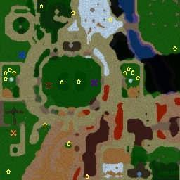 DotA Ai Maps, DotA Allstars, Diablo Hero Arena v2.1